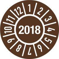 Einjahresprüfplakette