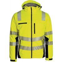 ASATEX Winter-Warnschutzsoftshelljacke ASATEX