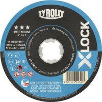 Trennscheibe X-LOCK 2in1 TYROLIT