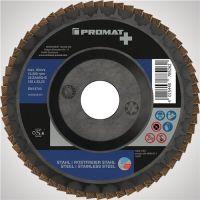 PROMAT Premium Fächerscheibe 2in1 D.125mm fl.INOX/Stahl ZK