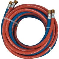 Autogengasschlauch ID 6/9mm Wandst.5/3,5mm blau/rot