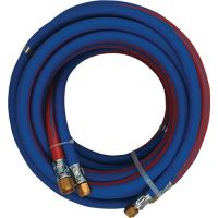Autogenzwillingsschlauch ID 6/6mm Wandst.9/9mm blau/rot