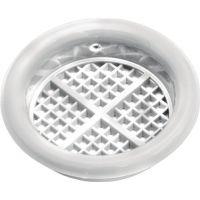 Lüftungsrosette Durchmesser 40mm Kunststoff weiß zum Einlassen