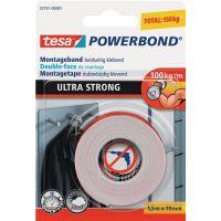 TESA Montageband Powerbond® 55791 transp.L.1,5m B.19mm Rl.TESA
