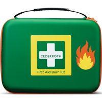 CEDERROTH Erste-Hilfe-Tasche B305xH245xT86ca.mm grün z.Brandwundenversorgung CEDERROTH
