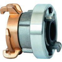 KARASTO Übergangsstück GEKA® plus-STORZ C Messing/Leichmetall