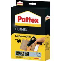 PATTEX Heißklebepistole Supermatic Klebeleistung 4,5 g/min 7-10 min 11mm PATTEX
