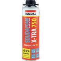 SOUDAL 1K-Pistolenschaum SOUDAFOAM X-TRA 750 500 ml B2 grau o.Einw.-Handsch.Dose SOUDAL