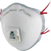 3M Atemschutzmaske 8833 EN 149:2001+A1:2009 FFP3 R D wiederverwendbar 10St./KT 3M