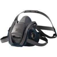 3M Atemschutzhalbmaske 6500QL-Serie 6500 EN 140 o.Filter M 3M