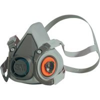 3M Atemschutzhalbmaske 6200 – Serie 6000 EN 140 o.Filter M 3M