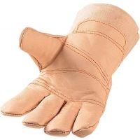 PROMAT Handschuhe Gr.10,5 naturfarben Möbelleder PSA I ASATEX