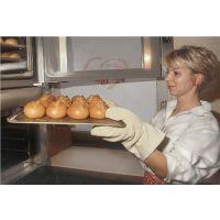 JUTEC Ofenhandschuhe Universalgröße natur Baumwollschlinge PSA II JUTEC