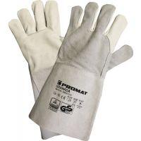 PROMAT Schweißerhandschuhe Granada Gr.10 grau Rindnarben-/Spaltleder 6 PA