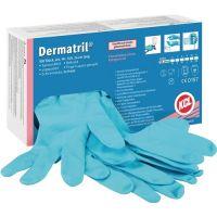 Dermatril Einw.-Handsch.Dermatril 740 Gr.9 blau Nitril 100 St./Box