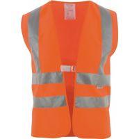 ASATEX Warnweste Gr.univ.orange m.Schulterreflexstreifen EN 20471 Kl.2 ASATEX