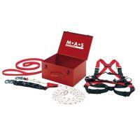 MAS Sicherheitskoffer EN 363,EN 361,EN 358,EN 353-2 Kat.3 4-teilig MAS