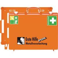 SÖHNGEN Erste Hilfe Koffer Beruf SPEZIAL Metallverarbeitung B400xH300xT150ca.mm orange