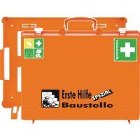 SÖHNGEN Erste Hilfe Koffer Beruf SPEZIAL Baustelle B400xH300xT150ca.mm orange SÖHNGEN
