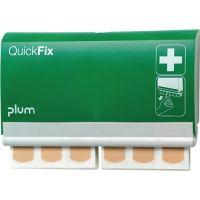 PLUM Pflasterspender QuickFix 2 B232,5xH133,5xT33ca.mm grün PLUM