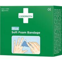 CEDERROTH Pflaster u.Bandage Soft Foam selbsthaftend elastisch,blau CEDERROTH