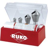 RUKO Querlochsenkersatz 2-5/5-10/10-15/15-20mm HSS-Co5 5tlg.Ku.-Kass.RUKO