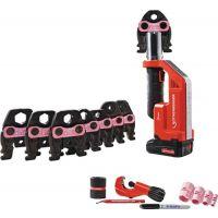 ROTHENBERGER Akkupressmaschine ROMAX Compact TT MaxiPro 1/4-1.1/8 Zoll Set,1x2 Ah Akku,EU