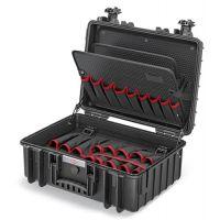 KNIPEX Werkzeugkoffer, BxHxT 470x190x370 mm Gewicht 4800g