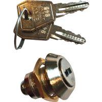 PROMAT Zylinderschl.m.zwei Schlüsseln f.Werkstattwagen m.4 Schubl.PROMAT