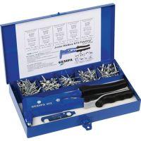 GESIPA Blindnietsortiment Junior-Nietbox PolyGrip® 352tlg. i.Blechkoffer GESIPA
