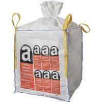 Transportsack Big Bag L.900mm B.900mm H.1100mm Trgf.1000kg Aufdruck:Asbest