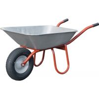 CAPITO Schubkarre Carry 85l Luftrad Stahlfelge m.Kunststoffgleitl.CAPITO