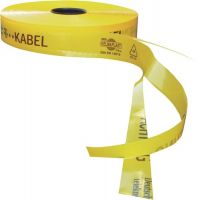 MULTICOLL Trassenwarnband Aufdruck Achtung D.Telekom Kab.B.50mm L.250m gelb