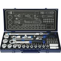 PROMAT Steckschlüsselsatz 55-tlg.1/4+1/2 Zoll SW 4-32mm Z.36/36 6KT PROMAT