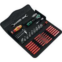 WERA Werkzeugset KK W1 35-tlg.Wartung Klapptasche WERA