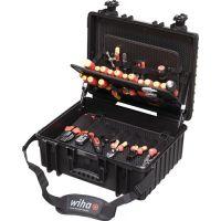 WIHA Werkzeugsortiment XL 80-tlg.im Schutzkoffer f.Elektriker WIHA