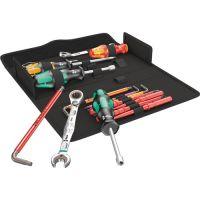 WERA Werkzeugset KK SH 2 15tlg.f.Sanitär- u.Heizungsinstallationen WERA