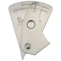 PROMAT Schweißnahtspeziallehre Ablesegenauigkeit 0,1mm PROMAT