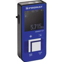 PROMAT Laserentfernungsmesser 15m ± 3mm IP 54 PROMAT