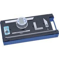 PROMAT Winkelmesser Schienen-L. 150/300mm Abl. 0,008°30 ′ dig. PROMAT