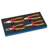 PROMAT Werkzeugmodul 4-tlg.1/3-Modul VDE-Zangensatz PROMAT