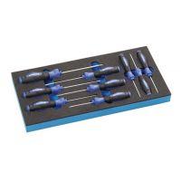 PROMAT Werkzeugmodul 9-tlg.1/3-Modul T 6-T 30 PROMAT