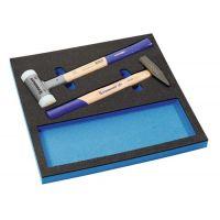 PROMAT Werkzeugmodul 2-tlg.1/3-Modul Schon-/Schlosserhämmer PROMAT