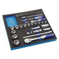 PROMAT Werkzeugmodul 55-tlg.2/3-Modul Steckschlü.PROMAT