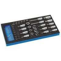 PROMAT Werkzeugmodul 46-tlg.1/3-Modul Steckschlü.PROMAT