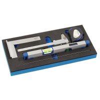 PROMAT Werkzeugmodul 6-tlg.1/3-Modul Messwerkzeugsatz PROMAT