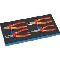 KNIPEX Werkzeugmodul 4-tlg.1/3-Modul VDE-Zangensatz KNIPEX
