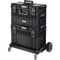 PROMAT Werkzeugkofferset Außen-B745xT510xH1027mm Polycarbonate Deckel PROMAT
