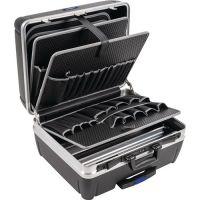 PROMAT Schalenkoffer Innen-B485xT230xH375mm HDPE-Material 42l Alu-Rahmen PROMAT