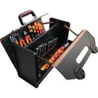PARAT Werkzeugtasche B420xT185xH315mm 24l Rindsleder PARAT